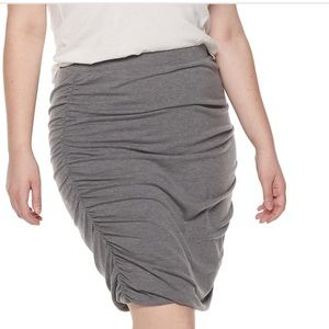 Juniors' Plus Size SO® Ruched Side Mini Skirt 3XL